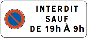 Panonceau M11b1  - Groupe Self Signal